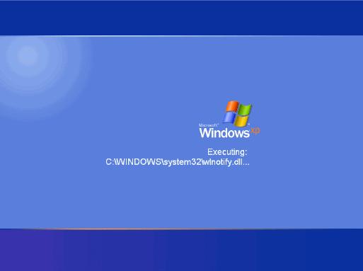 windows startup: