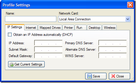 netprofile-settings