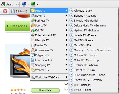 Watch TV in Firefox Using TV-Fox Addon