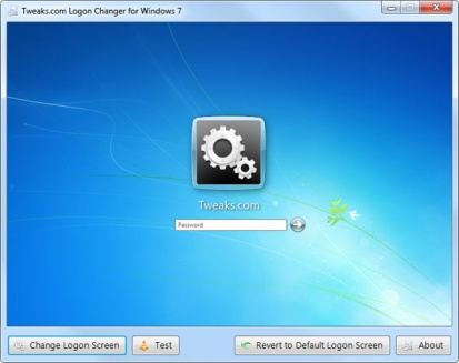 Windows 7 Logon theme changer