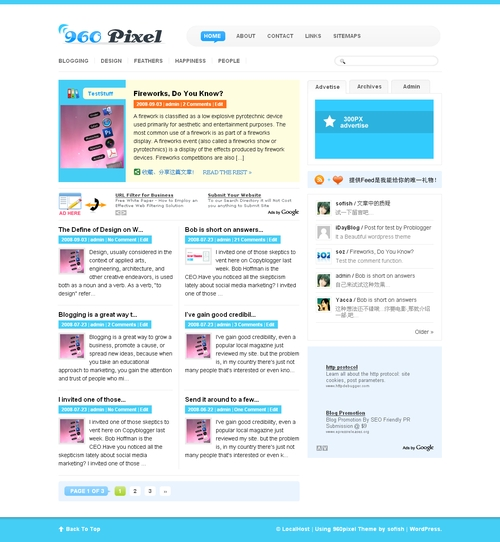 960pixel_wordpress_theme