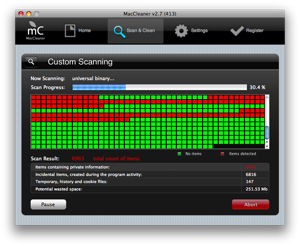 MacCleaner – Mac OSX Disk Cleanup Utility