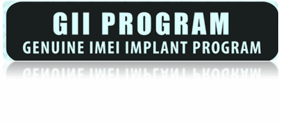 Genuine Imei Implant Program