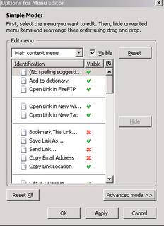 Unclutter Your Firefox Context Menu