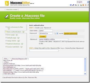 htaccess-editor