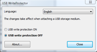 how to remove write protection from hp pen drive