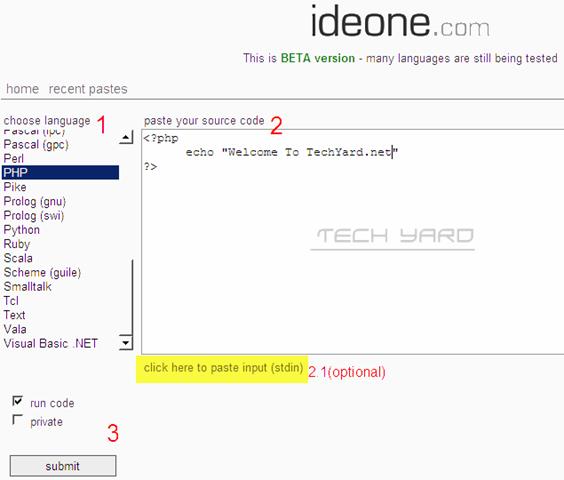 IDEOne – Online IDE | Test Code Online | Online Compilers | Online ...