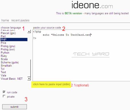 ideone-editor