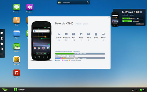 AirDroid - Web Desktop