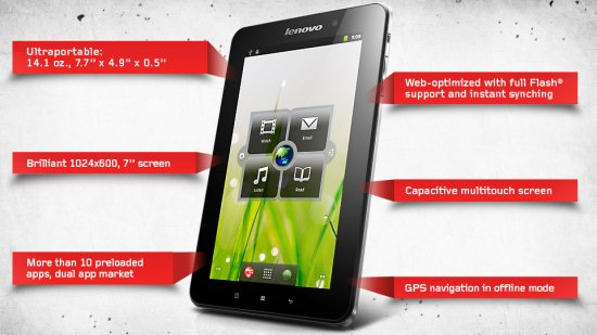 Lenovo A1 Tablet