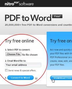 Nitro PDF - PDFtoWord