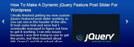 jquery-post-slider