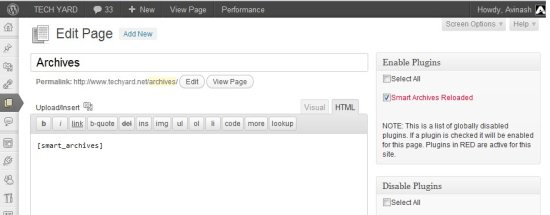WordPress Plugin Organizer