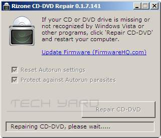 fix missing cd rom in windows