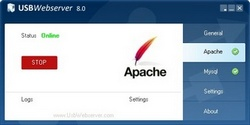 portable apache webserver