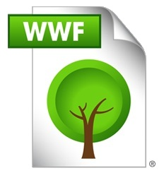 wwf green file format