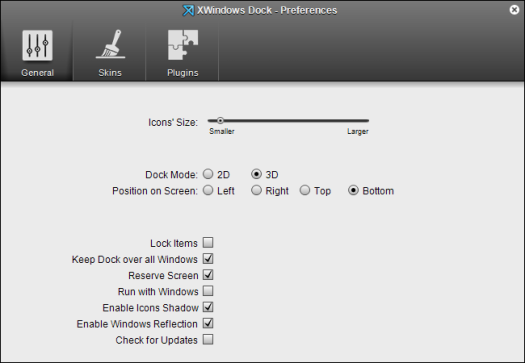 xwindows-dock-preferences